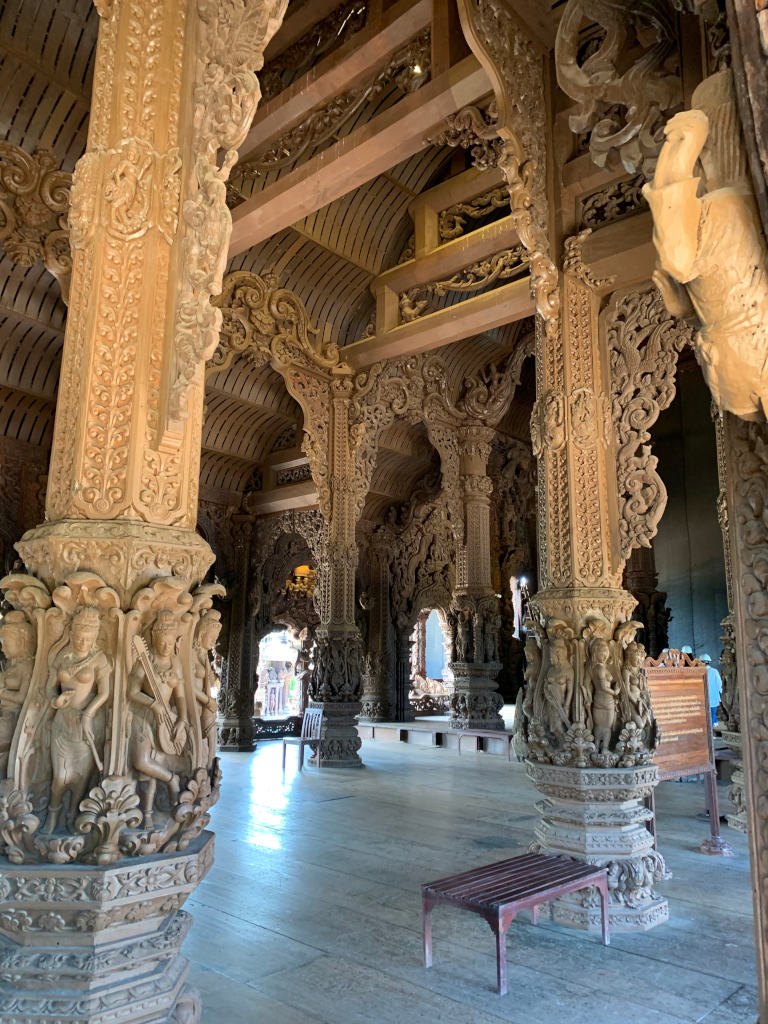 The Sanctuary of Truth, Pattaya, Thailand 8