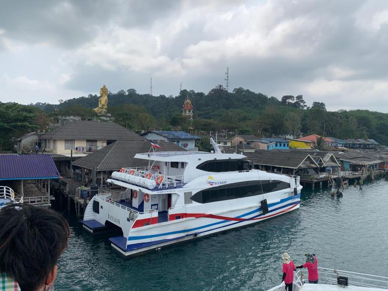The excellent Boonsiri Ferry to Koh Kood (Ko Kut) 12